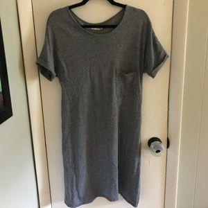 Madewell Hi-Line T-Shirt Dress